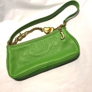Juicy Couture Green Leather bag